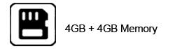 4-GB+4-GB-Memory