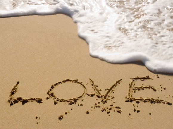 Love on Sands of Time